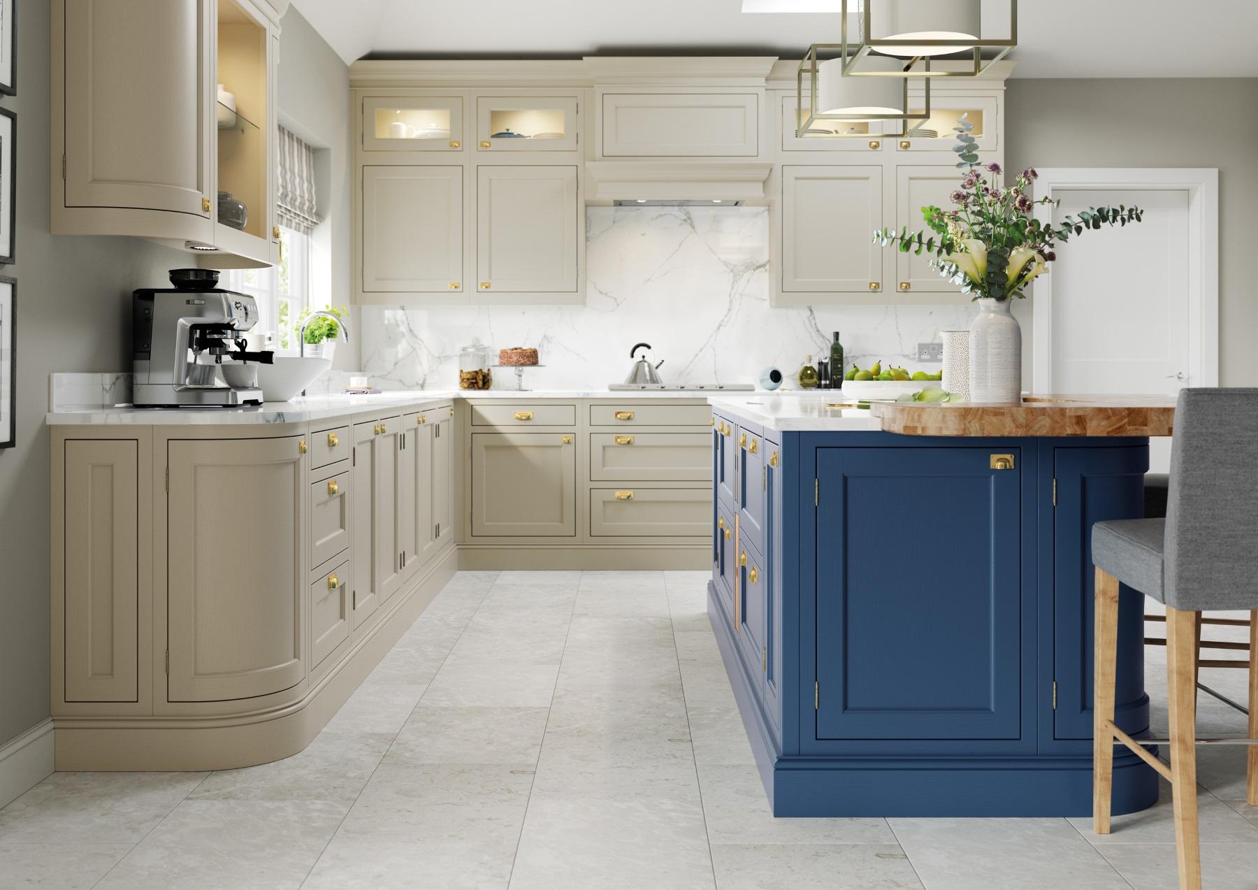 Belgravia Parisian Blue and Stone